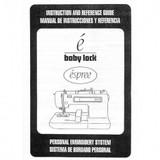 Instruction Manual, Babylock EM1 Espree