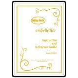 Instruction Manual, Babylock Embellisher EMB12