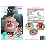 Monkey Business Car Caddy Pattern, Eazy Peazy Quilts