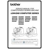 Service Manual, Brother ES2010