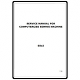 Service Manual, Babylock ESE2 Esante