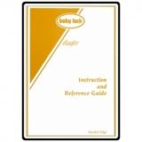 Instruction Manual, Babylock ESG3 Ellageo