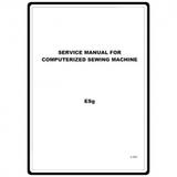 Service Manual, Babylock ESG Ellageo