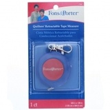 Retractable Tape Measure (120in), Fons & Porter #FP7780