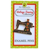 Vintage Sewing Machine Enamel Pin