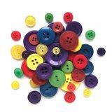 Button Grab Bag - Primary Colors - 6oz