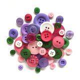 Button Grab Bag - Spring Blossom - 6oz