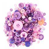 Button Grab Bag - Sugarplum - 6oz