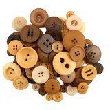 Button Grab Bag - Cappaccino - 6oz