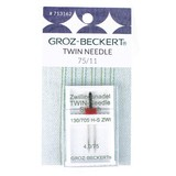 Twin Stretch Needle, Groz-Beckert, 130/705H 75/11