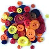 Buttons Galore, Variety Button Hand Bag Tote - Class