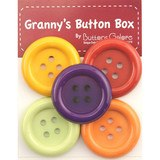 Granny's Button Box, Chunky Buttons - Autumn