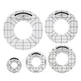 Good Measure Circle Ruler Templates - 5pc
