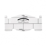 Good Measure, Feather Spine Ruler Template