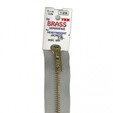 Brass Separating Zipper, YKK #GO-