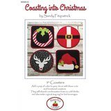 Coasting into Christmas, Coaster Pattern, Hissyfitz Designs
