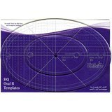 Handi Quilter, Oval Ruler B