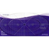 Handi Quilter, Oval Ruler C