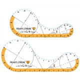 Hearts and More Template Set, Large - 2pk