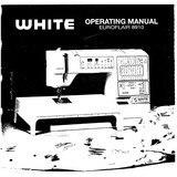 Instruction Manual, White 8910