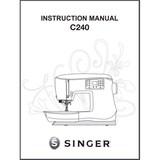 Instruction Manual, Singer Featherweight C240
