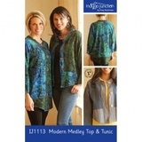 Modern Medley Top and Tunic Pattern