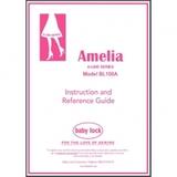 Instruction Manual, Babylock BL100A Amelia
