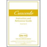 Instruction Manual, Babylock BLCR Crescendo