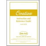 Instruction Manual, Babylock BLES8 Ovation
