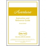 Instruction Manual, Babylock BLMAV Aventura
