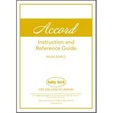 Instruction Manual, Babylock Accord BLMCC
