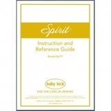 Instruction Manual, Babylock BLPY Spirit