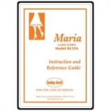 Instruction Manual, Babylock Maria A-Line BL23A