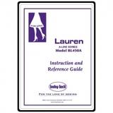 Instruction Manual, Babylock Lauren A-Line BL450A