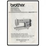 Instruction Manual, Brother DB2-B791