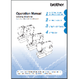 Instruction Manual, Brother CE1100PRW