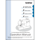 Instruction Manual, Brother CS9100