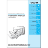 Instruction Manual, Brother NV4750D