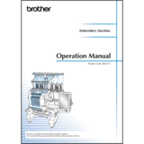 Instruction Manual, Brother PR1050X
