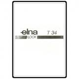 Instruction Manual, Elna T34