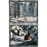 Wilmington, Winter Whispers Fabric Panel