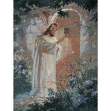 Behold I Stand at the Door and Knock, Jesus Tapestry