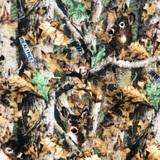 Realtree Deer in Camo Fleece Fabric - 58/60in