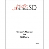 Instruction Manual, Janome Artistic Quilter SD