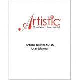 Instruction Manual, Janome Artistic Quilter SD-16