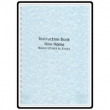 Instruction Manual, Janome (New Home) LR1622