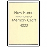 Instruction Manual, Janome and Newhome MC4000