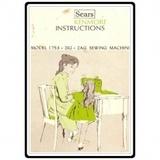 Instruction Manual, Kenmore 158.17530