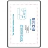 Instruction Manual, Necchi 4795