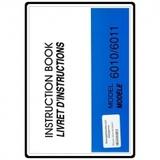 Instruction Manual, Necchi 6010